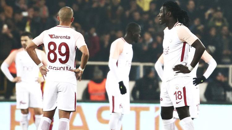 Galatasaray deplasmanda kayıp!