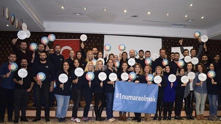 'Birlikte Bir Numara Olmak Zirvesi' Gerçekleşti