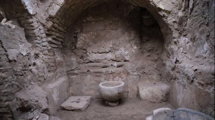 Harran'da 9 asırlık hamam bulundu!