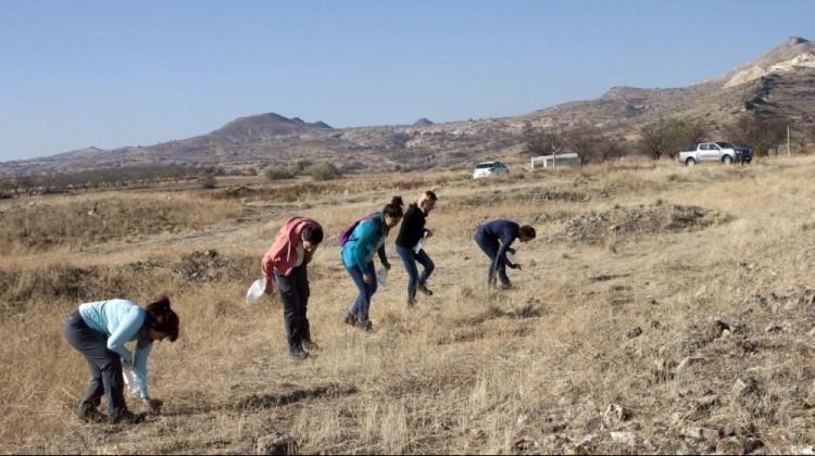 Kapadokya'da heyecanlandıran keşif