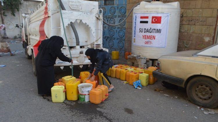Sadakataşı'ndan Yemen'de acil yardım