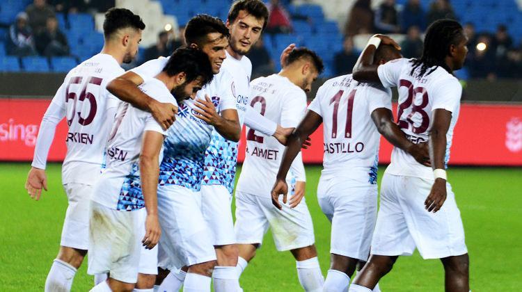Trabzon ilk yarı raporu: Sonradan açıldı