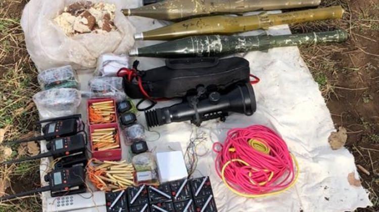 Mardin'de terörle mücadele