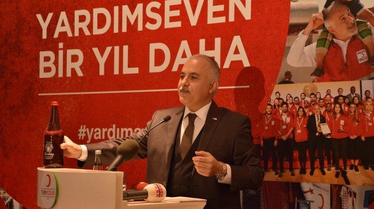 Kızılay yeni yılda 10 milyon kişiye eğitim verecek
