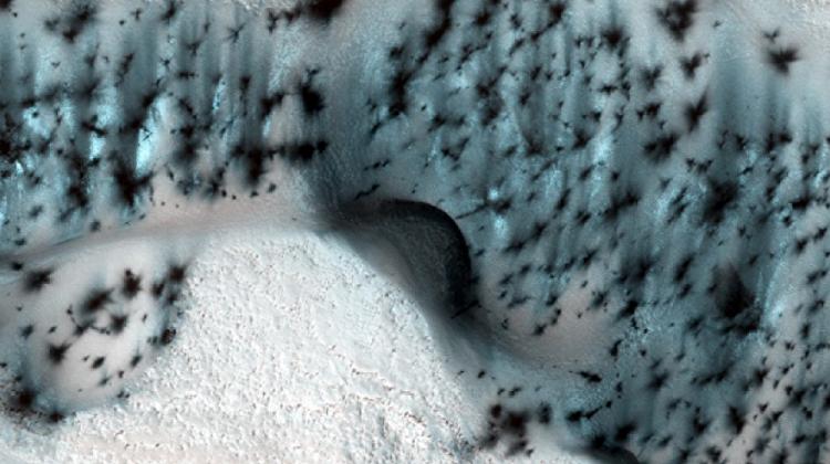 Nasa yayınladı! İşte Mars'ın kış görüntüsü