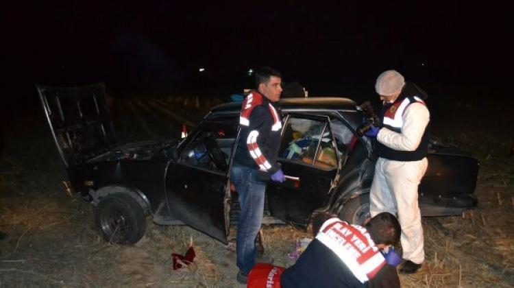 Aksaray'da bir araca silahlı saldırı: 2 ölü