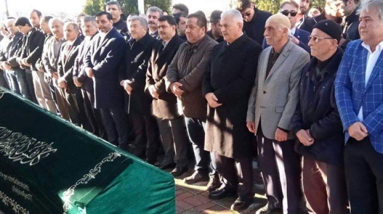 Başbakan Yıldırım'ın acı günü! Cenazeye katıldı