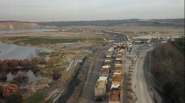 Hafriyat kamyonlarına büyük takip! 11 bin...