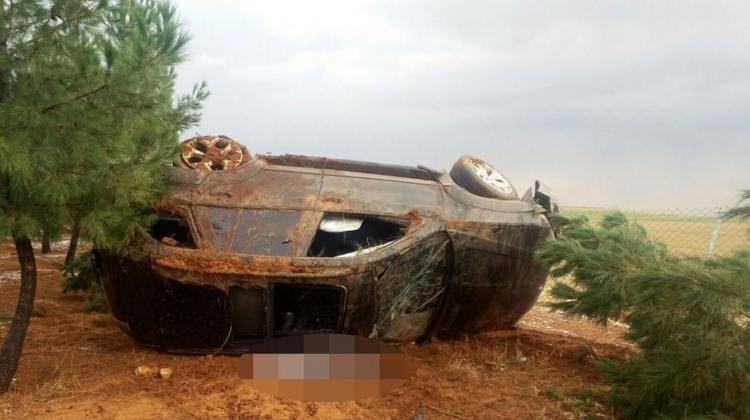 Şanlıurfa'da feci kaza: 1 ölü, 4 yaralı
