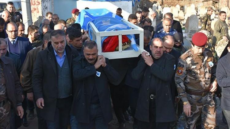 Türkmen komutana veda