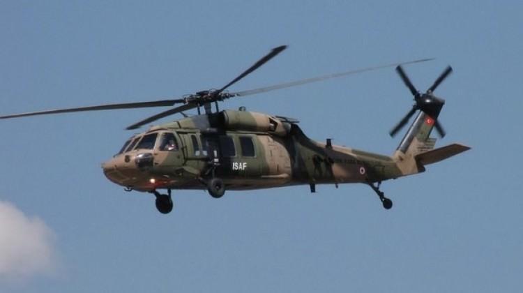 Yunanistan'da askeri eğitim uçağı düştü