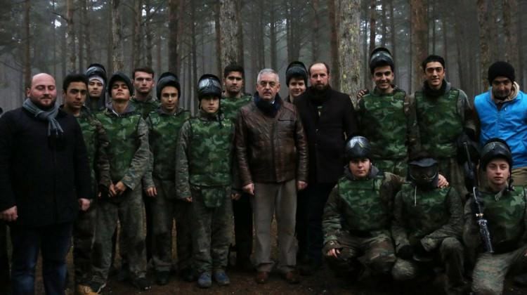 Başkan Aydın'dan Kış Gençlik Kampına ziyaret