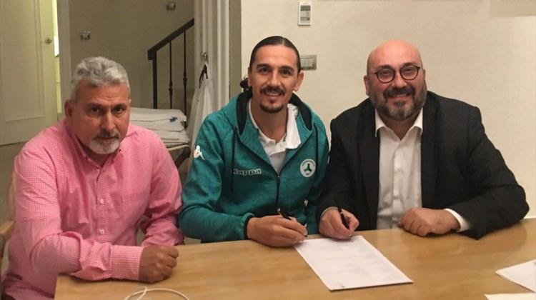 Akın Çorap Giresunspor'da transfer çalışmaları