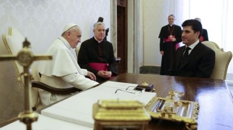 Barzani'nin son umudu Papa oldu