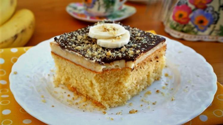 Çikolatalı muzlu borcam pastası nasıl yapılır? Kolay püf noktası...