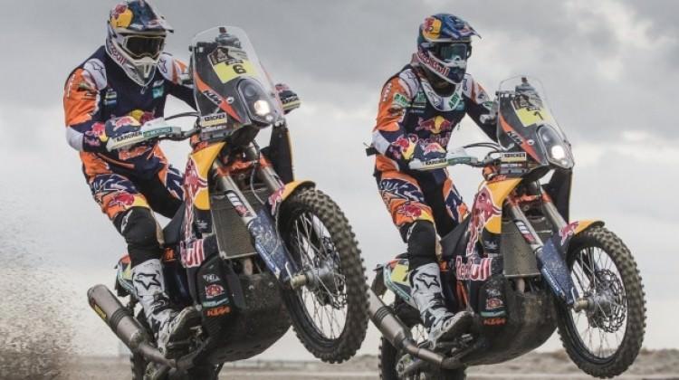 Dakar Rallisi'nde kazanan Sunderland