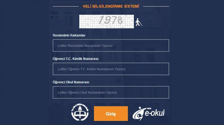 E-okul 3.sınav sonuçları açıklandı! (VBS) E-Okul giriş ekranı...