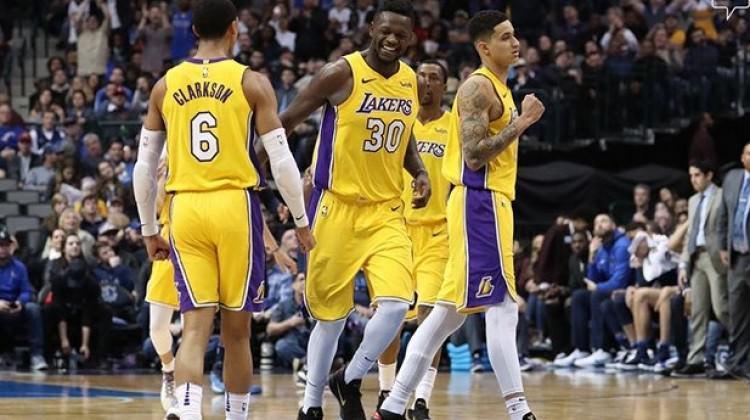 Lakers seriyi 4 maça çıkardı!