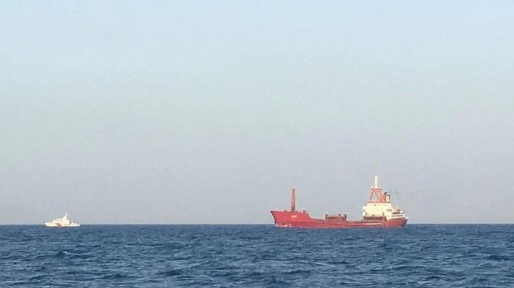 Türkiye'den alıkonulan gemiyle ilgili açıklama
