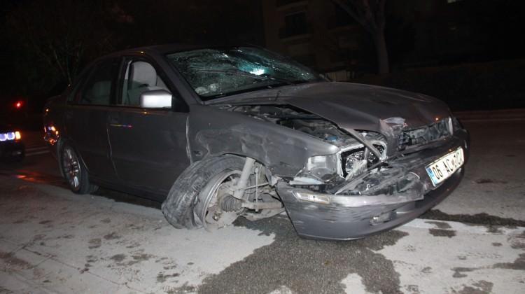 Alkollü sürücü dehşeti! Önce yayaya sonra...