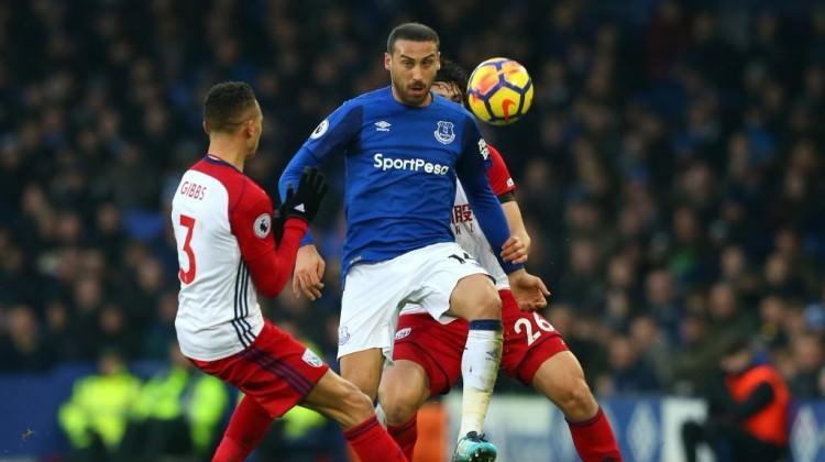 Cenk Tosun'lu Everton yine kazanamadı!