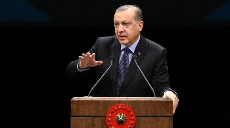 Erdoğan çok sert çıktı…