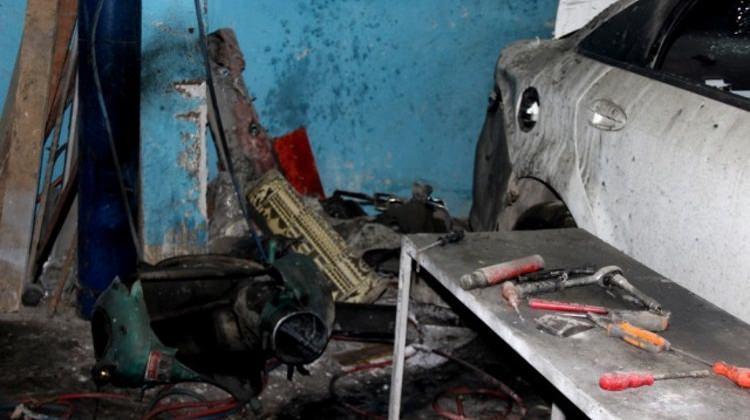 Sanayi sitesinde patlama: 1 yaralı