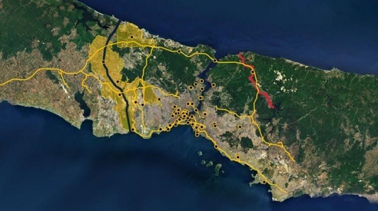 İstanbul'un 19 ilçesi adalı olacak