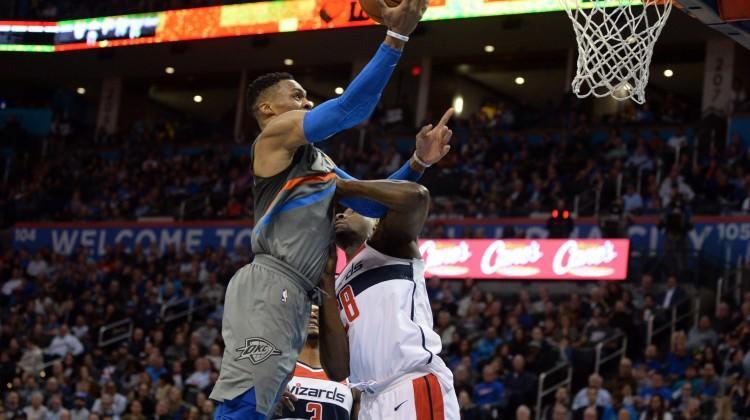 Russell Westbrook'tan 46 sayı!