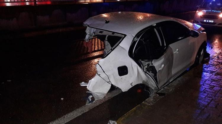 Merkez Haberleri: 2,5 ay önce evlenmişti, kazada öldü