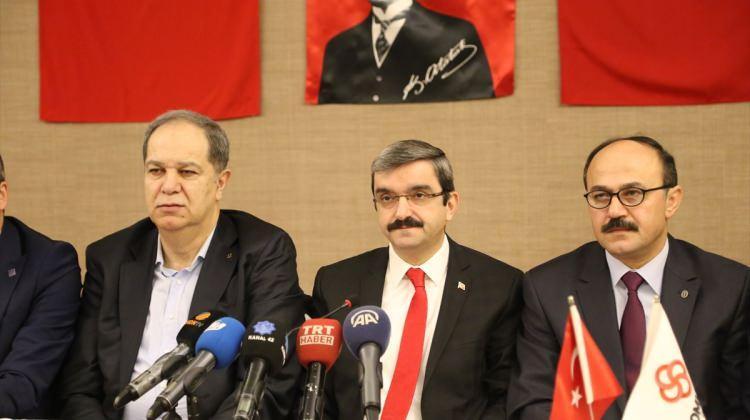 """Oda başkanlarından """"Zeytin Dalı Harekatı""""na destek"""