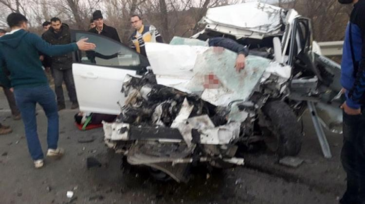Iğdır'da feci kaza! 2 ölü