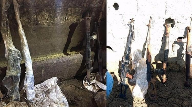 Ahırda PKK'nın suikast silahı ele geçirildi