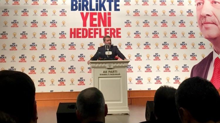 AK Parti İstanbul İl Başkanı istifa etti!