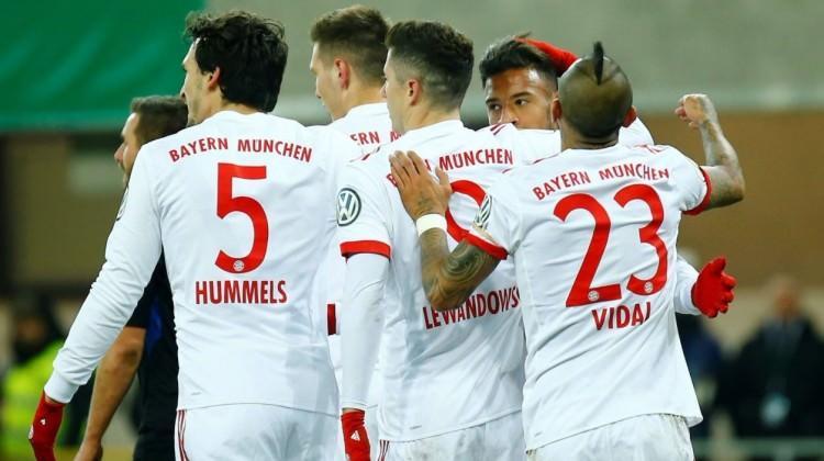 Bayern Münih güle oynaya yarı finalde!