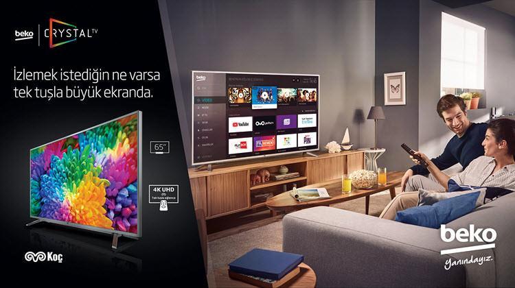 Beko CrystalTV Serisi ile Büyük Ekran Büyük Keyif