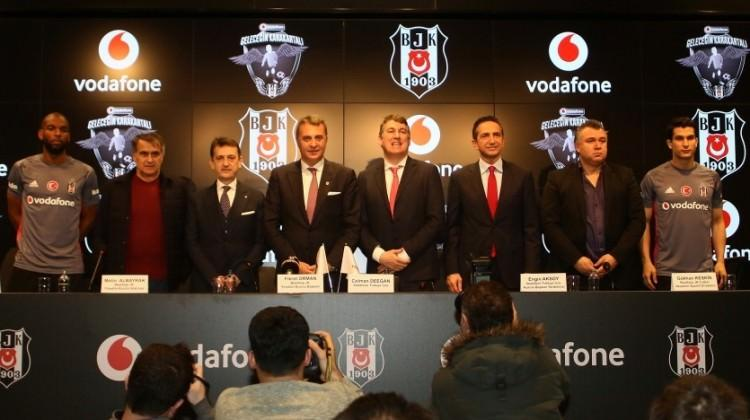 Beşiktaş ile Vodafone arasında yeni işbirliği