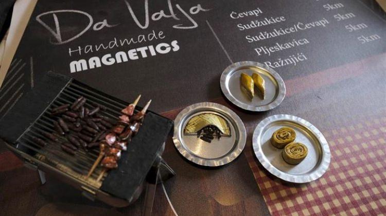 Bosna mutfağı magnetleri ilgi odağı oldu