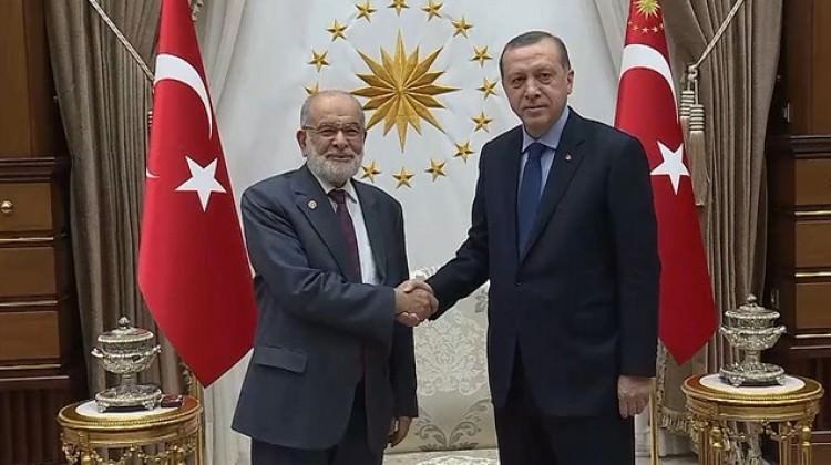 Cumhurbaşkanı Erdoğan SP liderini kabul edecek