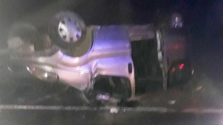 Irak'tan dönen minibüs kaza yaptı: 11 yaralı