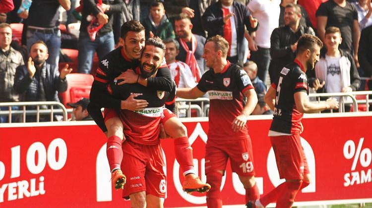 Samsunspor tek golle kazandı!