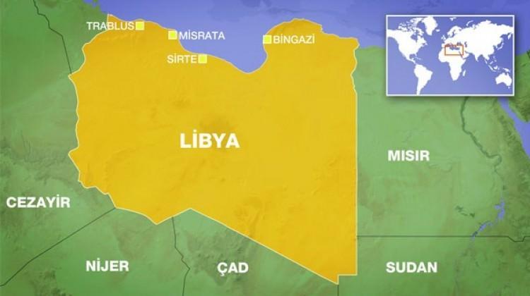 Libya'da camide korkutan patlama!