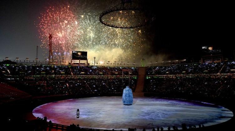 PyeongChang Kış Olimpiyatları'nda muhteşem açılış