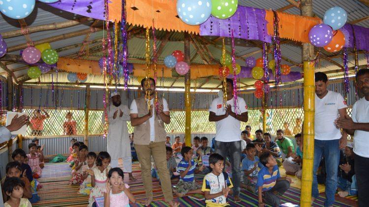 Sadakataşı'ndan Arakanlılar için 3 okul daha