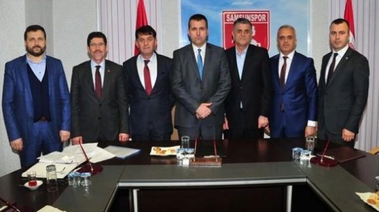 Samsunspor'da kayyum heyeti belli oldu
