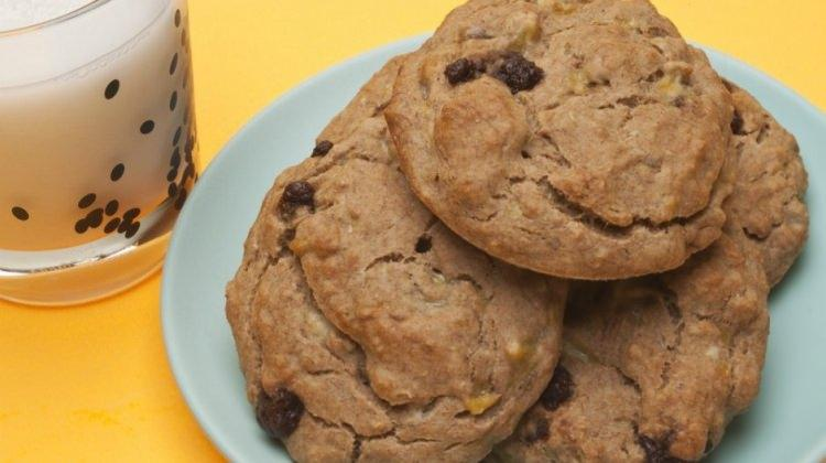 Şekersiz muzlu kurabiye tarifi