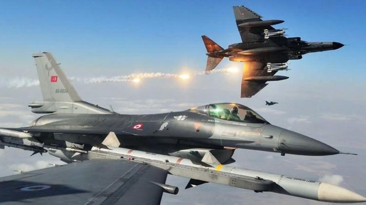 Türk jetleri böyle vurdu! Yeni görüntüler