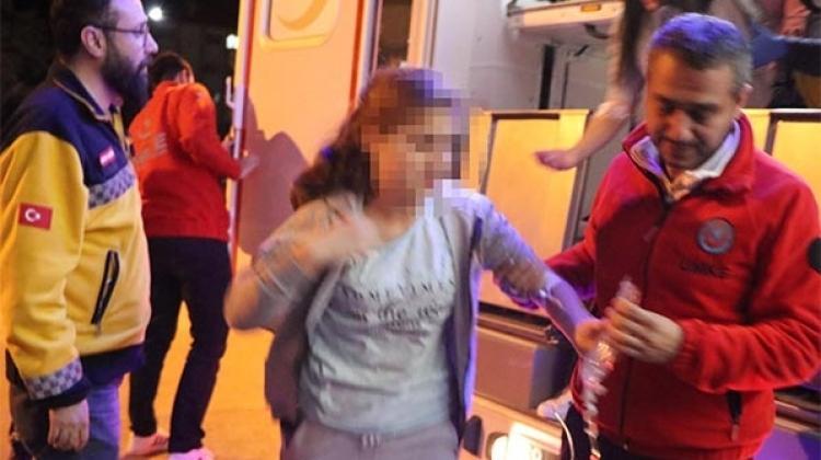 14 öğrenci hastaneye kaldırıldı