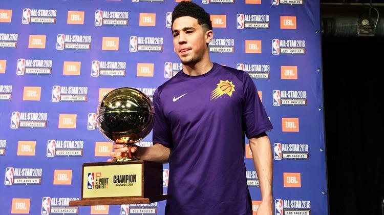 3 sayı yarışmasında NBA tarihine geçti!