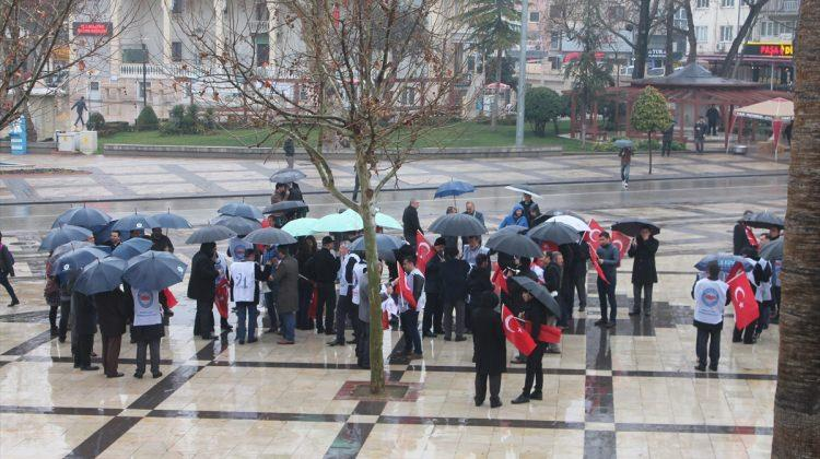 Denizli'de Zeytin Dalı Harekatı'na destek